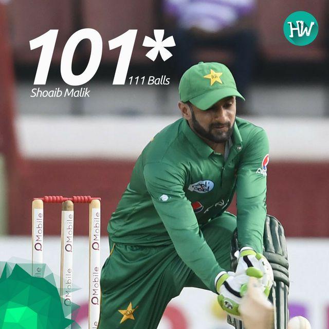 Shoaib Malik played a match winning innings to make sure Pakistan clinch the ODI series 2-1!  #WIvPAK #cricket