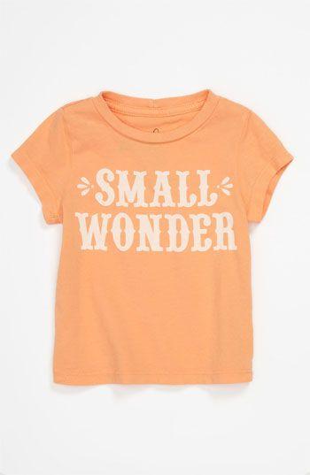 Peek 'Small Wonder' T-Shirt (Infant) | Nordstrom