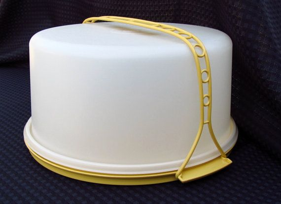Vintage Tupperware Large Cake Taker With Handle  $18.75