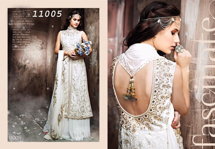 DRESS WITH THE COMBINATION OF MODERN AND TRADITIONAL EMBROIDERY WITH NET AND VELVET FABRIC