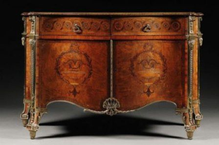Harrington Commode: £3,793,250 Harrington Commode is one of the most expensive antiques ever sold in the world. It is recorded as being auctioned by Sotheby's in London in December 2010 for more than four times. the estimate