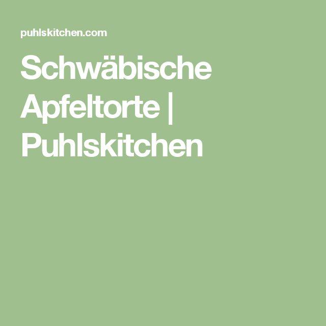 Schwäbische Apfeltorte | Puhlskitchen
