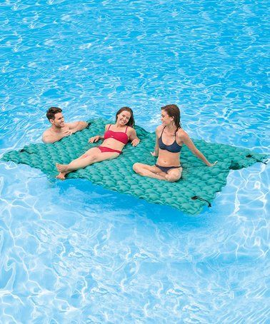 This Giant Floating Mat is perfect! #zulilyfinds | Parties | Pool ...