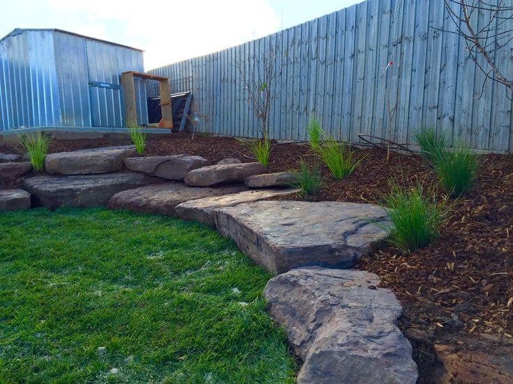 slate garden landscaping Best 25+ Slate rock ideas on Pinterest | River rock patio