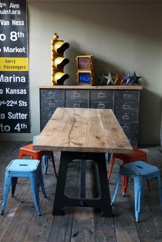Les 25 meilleures id es de la cat gorie banc b niste sur for Table industrielle loft