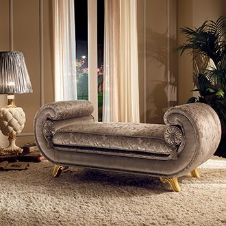 Giotto Collection Living Room, Chaise Longue Venere www.arredoclassic.com/living-room/chaise-longue-venere-sofas-giotto
