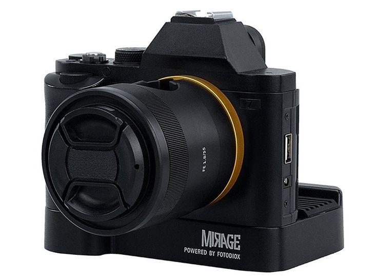 Mirage Trio: зарядная станция в виде беззеркальной фотокамеры Sony
