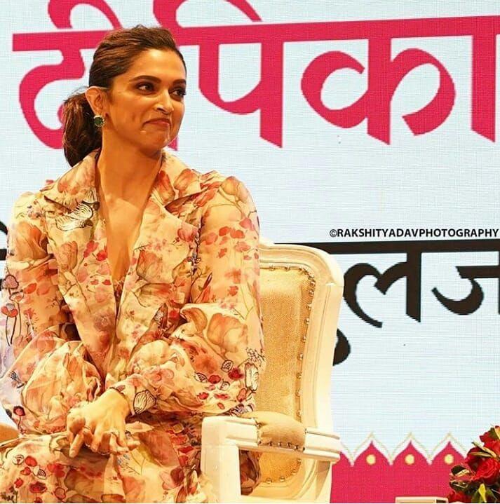 Watch Deepika Padukone Gracefully Dances To Nagada Sang Dhol At Dainik Bhaskar Utsav In Jaipur Today Hungryboo Deepika Padukone Insta Fashion Deepika Padukone Hot