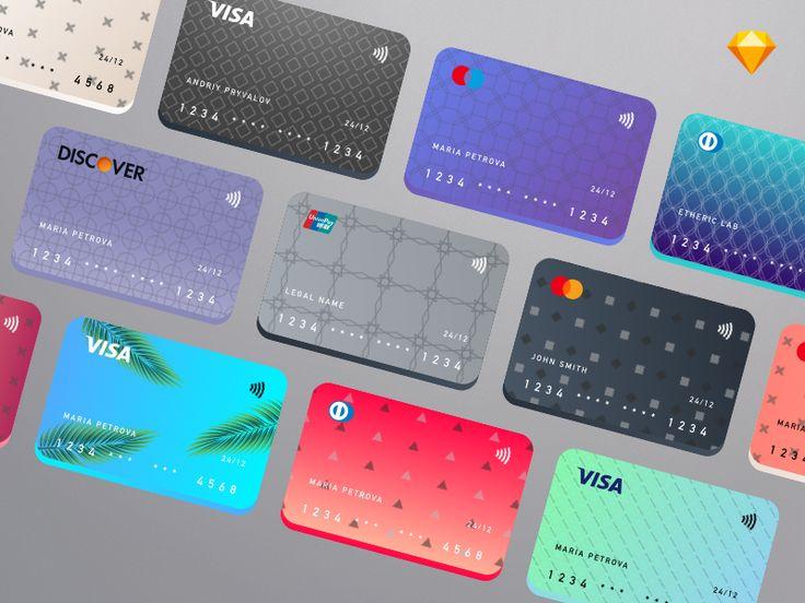 Cards creation kit implementation debit card design