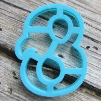 """Cookie cutter """" Number 8 """" 10 cm"""