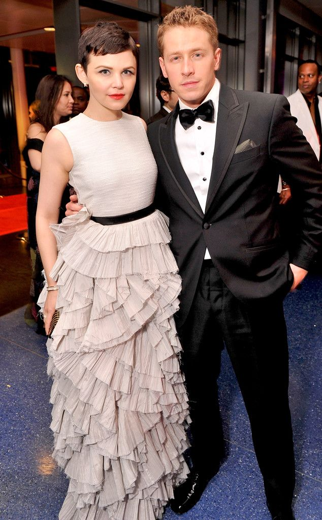 Ginnifer Goodwin and Josh Dallas Are Married! :D it's so cute that they play Snow White and Prince Charming in OUAT and are married in real life!