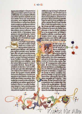 Johannes Gutenberg - Gutenberg-Bibel, Initialen S und U