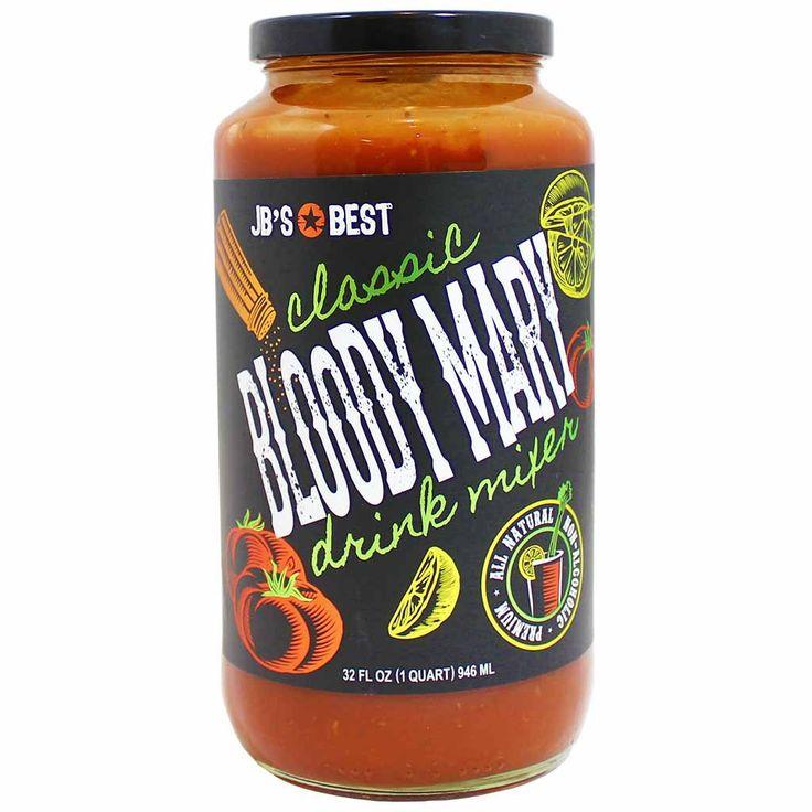 JB's Best Classic Bloody Mary Drink Mixer 32 fl. oz. (946 mL)