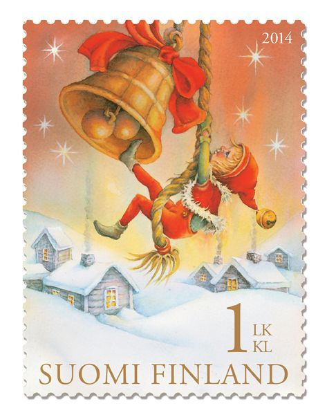 Nordic Thoughts: They are here: the Finnish Christmas stamps 2014