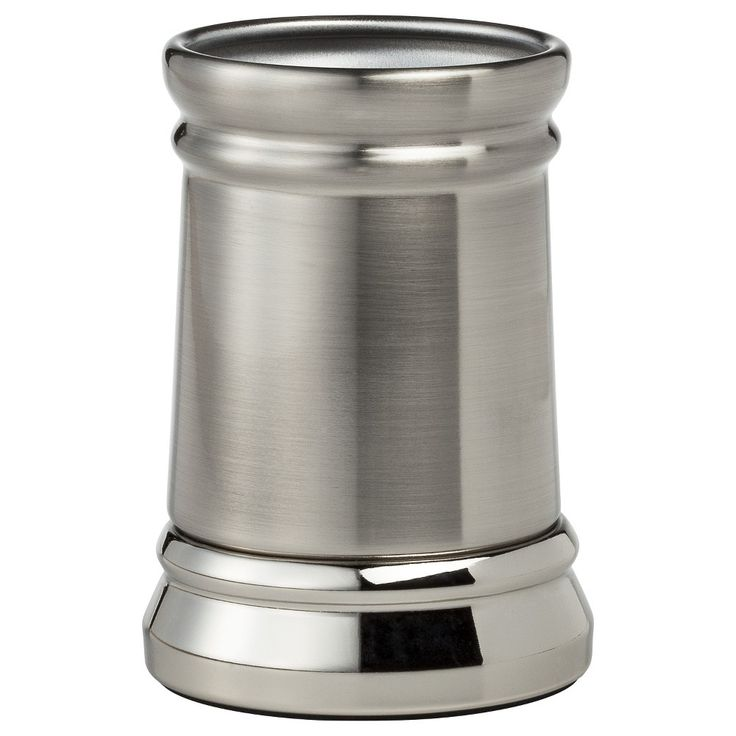 Threshold Bathroom Tumbler - Silver Nickel