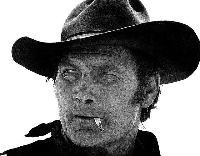 "Film homage, Jack Palance, ""Monte Walsh,"" 1970, Old Tucson, Arizona by David Lee Guss, via Flickr"