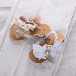 Детски сандали за принцеси малки.