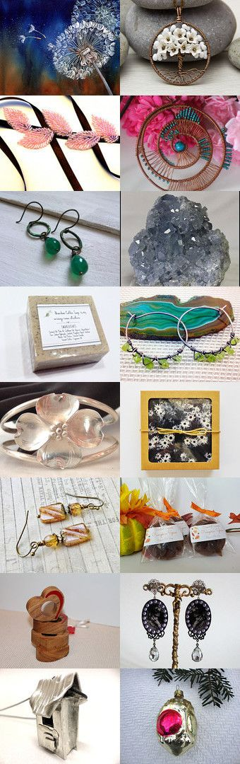 Beautiful finds ! by Annica J on Etsy--Pinned+with+TreasuryPin.com