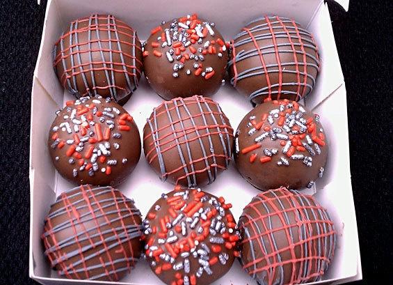 Buckeye cake balls recipe