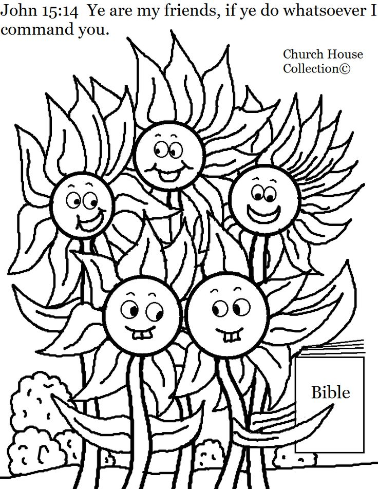 66 best Coloring/Activity Pages for Church images on