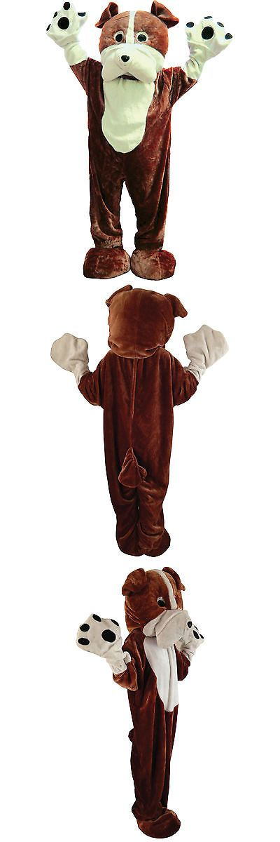 Men Costumes: Deluxe Bulldog Mascot Warm Costume By Dress Up America - (Adult One Size) -> BUY IT NOW ONLY: $94.99 on eBay!