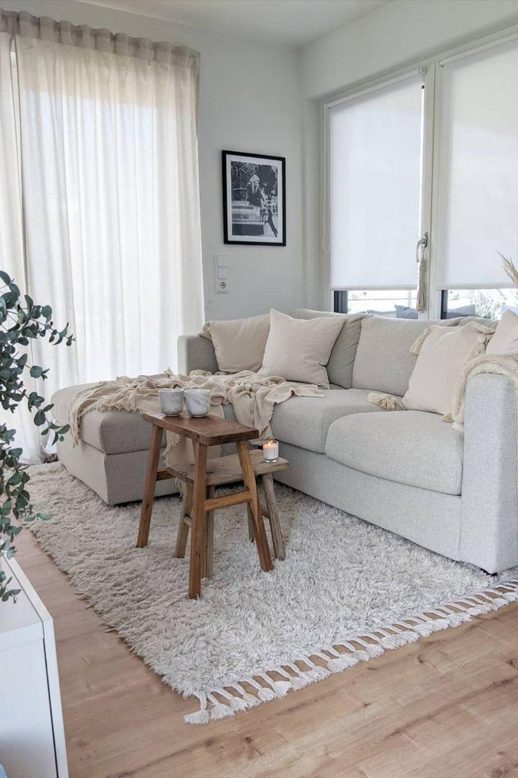 Hochflorteppich Ava Cream in 2020 | Haus deko, Wohnzimmer ...