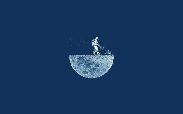 луна, космонавт, скафандр, m