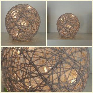 Frk Hege: Hvordan lage lysball på 1-2-3