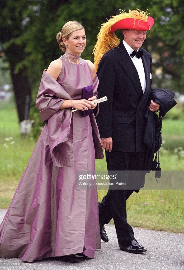 Crown Prince Willem-Alexander & Crown Princess Maxima Of Holland Attend A Performance At Gripsholm Castle During The Celebrations For King Carl Gustav & Queen Silvia Of Sweden'S 25Th Wedding Anniversary. .