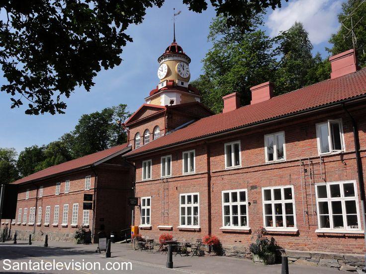 La ciudad del diseño y el arte Fiskars en el sur de Finlandia