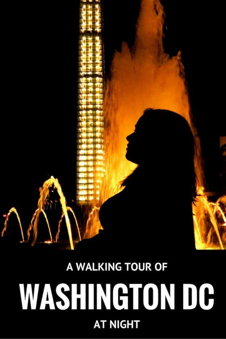 Washington DC Night Walking Tour