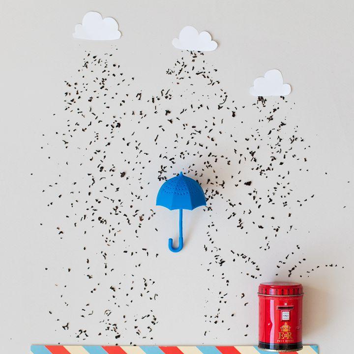 Y si llueve, abre tu paraguas a lo #Superbritánico.
