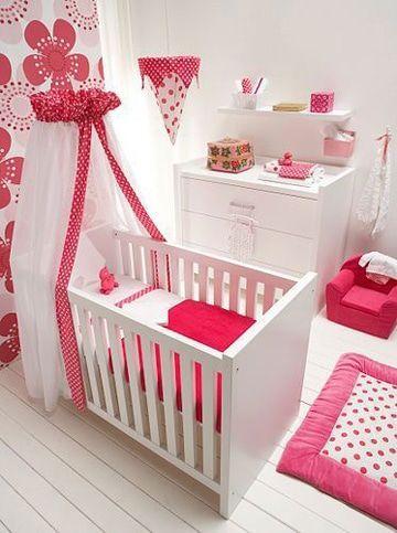 cuartos de bebes recien nacidos decoracion niña ...