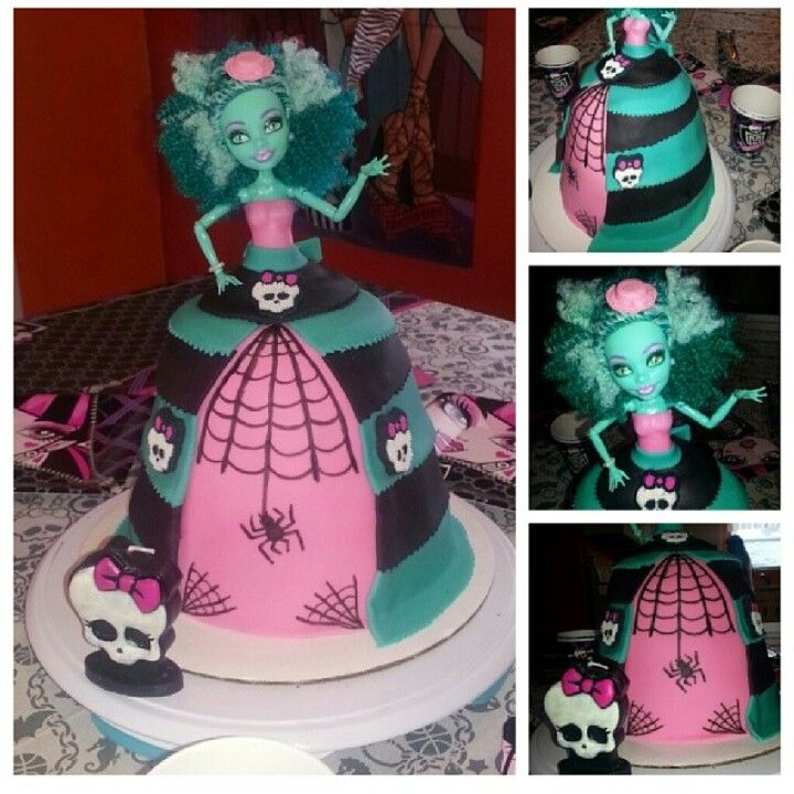 Monster High Doll Cake Honey Swamp Our Creations