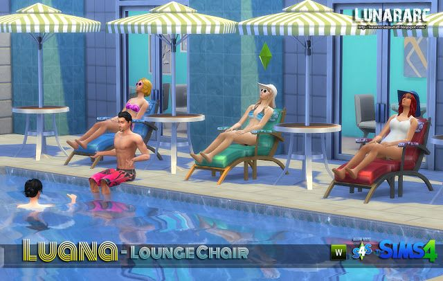 Lunararc Sims : Luana Lounge Chair