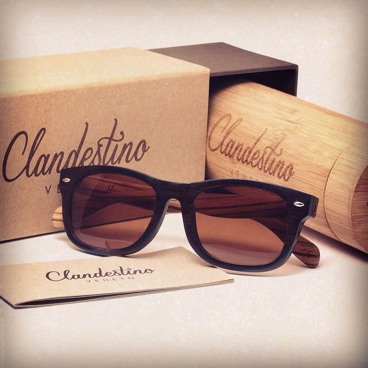 Make the best gift with Clandestino's handmade eyewear.