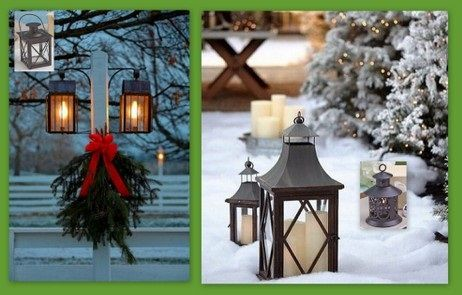Outdoor Decoration with Lantern from hotref.com