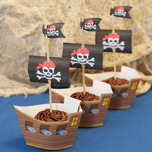 Pirate Party Ideas Blue Pirate PDF Party Pack