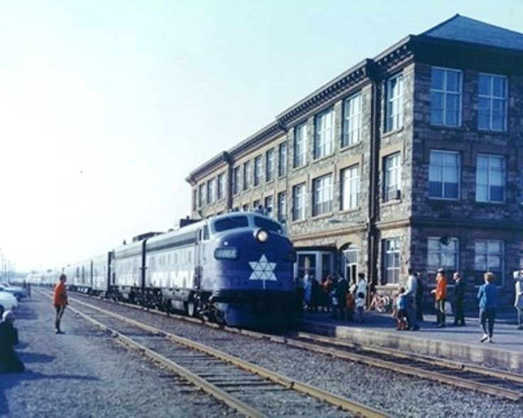 The Centennial Train arrived in Sault Ste. Marie in late May 1967. Sault Ste. Marie Public Library archives 2