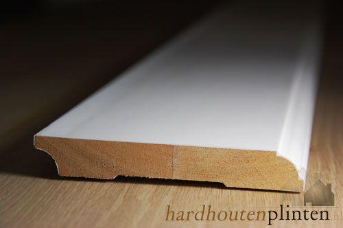 kraal plint - hardhout
