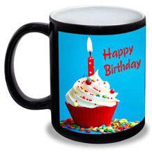 A good gift for girlfriend: Birthday Personalised Black Mug