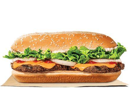 Burgers - Burger King Delivery Menu