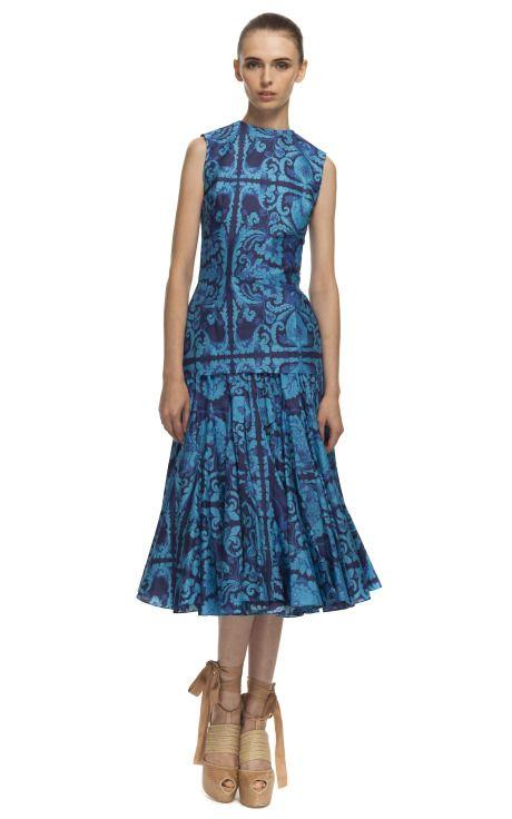 Vera Wang P/V 2013 at Moda Operandi - via @Kenny Milano #thebestcollections #3 #blue #chic