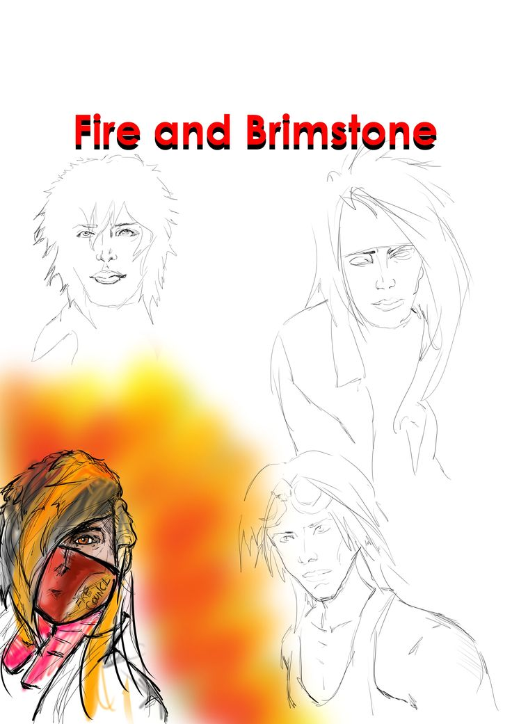 Fire Code and Brimstone Sample Cover