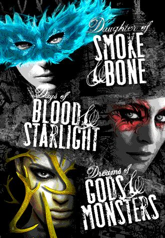 Daughter of Smoke & Bone // most awe inspiring, full of wonder, best written novels my eyes have ever come into contact with, nbd