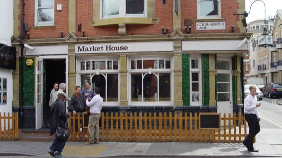 Picture of Market House in Brixton, London