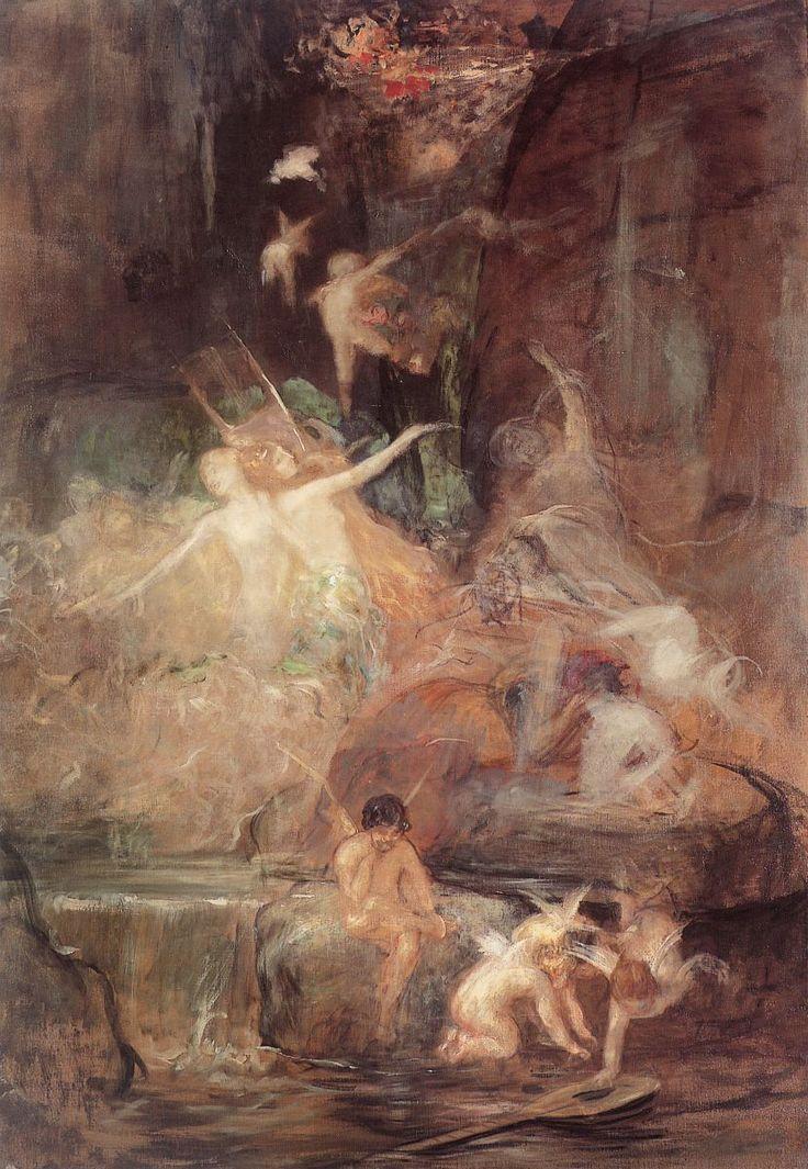 The Poet on Earth by Gyzis Nikolaos (1842-1901)