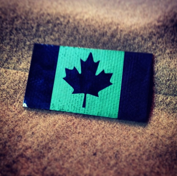 The Patch Panel Canadian Flag IR patch, 20.00 (http