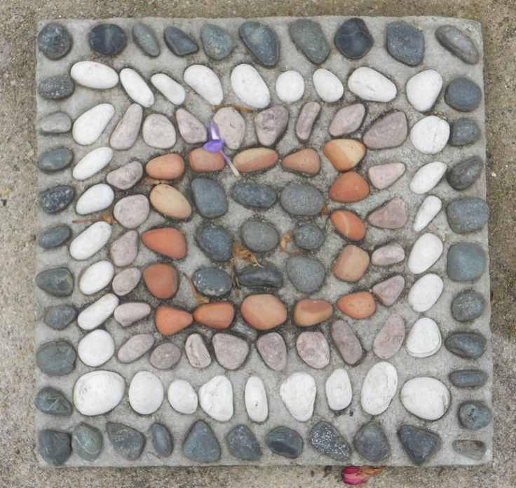 How to Make Mosaic Stepping Stones via www.wikiHow.com