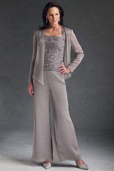 Plus Size Formal Pant Suits Plus Size Cocktail Pants Suits Items pictured from Roamans Plus Size Formal Pant Suits and Plus Size Cocktail Pants Suits are a great option if you need to go to a dressier event, a dressy wedding or even for a cruise.